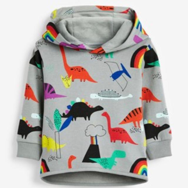 NEXT(ネクスト)の新品!ネクスト ジョガーパンツ 恐竜 キッズ/ベビー/マタニティのベビー服(~85cm)(パンツ)の商品写真