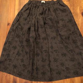 サマンサモスモス(SM2)のサマンサモスモス 花柄 スカート スタディオクリップ好き(ロングスカート)