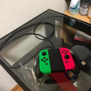ニンテンドースイッチ(Nintendo Switch)のSwitch 充電グリップ ジョイコン  セット(その他)