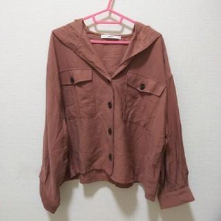 しまむら - くすみピンクジャケット