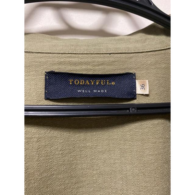 TODAYFUL(トゥデイフル)のtodayful レディースのジャケット/アウター(ミリタリージャケット)の商品写真