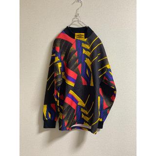 UMBRO モックネック ロンT 90s(Tシャツ/カットソー(七分/長袖))