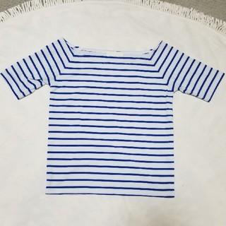 ジーナシス(JEANASIS)のオフショルダー 半袖 Tシャツ(Tシャツ(半袖/袖なし))
