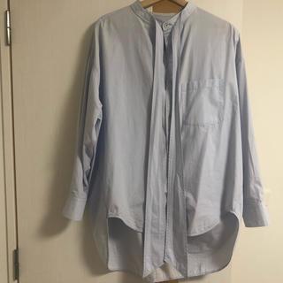 バレンシアガ(Balenciaga)のバレンシアガのロング丈シャツ(シャツ)