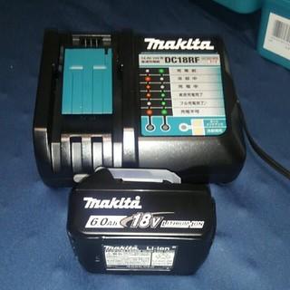 Makita - 【マキタ】BL1860B&DC18RF 高速バッテリー&急速充電器