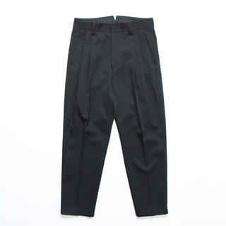 stein 19aw Two Tuck Wide Trousers