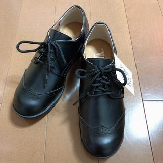 シマムラ(しまむら)のしまむら×プチプラのあや/プチパンチング4ホールP/ブーツ(ローファー/革靴)