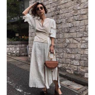 アメリヴィンテージ(Ameri VINTAGE)のamerivintage washi layered dress(ロングワンピース/マキシワンピース)