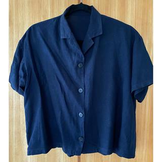 ジーユー(GU)のシャツ 半袖(シャツ/ブラウス(半袖/袖なし))