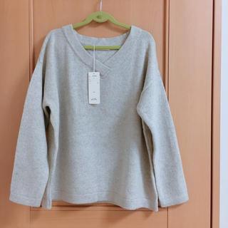 ベルメゾン - 新品*BELLE MAISONカシミヤ混Vネックセーター