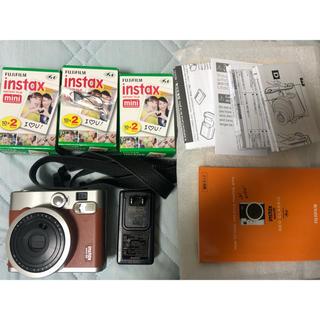 富士フイルム - instax mini 90 チェキ インスタントカメラ 富士フイルム