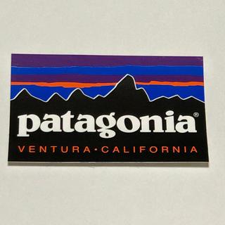 パタゴニア(patagonia)のパタゴニア  ロゴステッカー(登山用品)