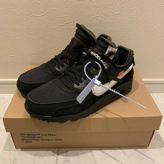 OFF-WHITE - nike off-white air max 90 ブラック