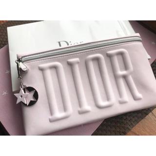 Dior - ⭐️DIOR ノベルティクラッチポーチ☆ベビーピンク☆