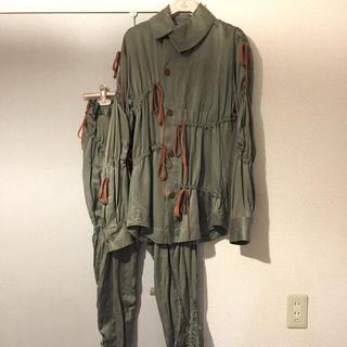 Vivienne Westwood - MAN リボンギャザーシャツ セットアップ