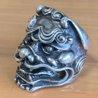 【Silver925/シルバー925】迫力!獅子リング!(リング(指輪))