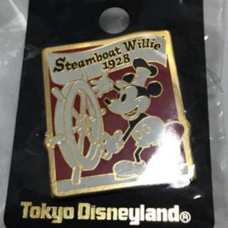 Disney - 蒸気船ウィリー号 ピンバッジ