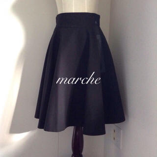 FOXEY - FOXEY♡French circular skirt 38 黒