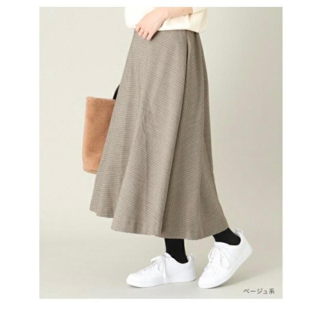 Sonny Label(サニーレーベル)のSonny Label  ガンクラブチェックフレアスカート レディースのスカート(ロングスカート)の商品写真