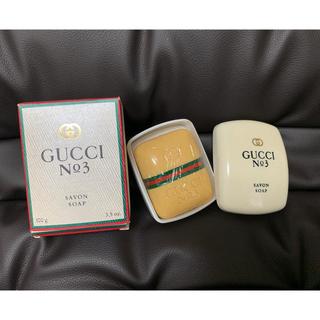 グッチ(Gucci)のGUCCI グッチ 石鹸 ザボン (ボディソープ / 石鹸)