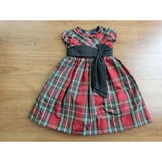 ラルフローレン(Ralph Lauren)のラルフローレン チェック柄 ドレス 90㎝ 24М(ワンピース)