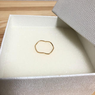 ユナイテッドアローズ(UNITED ARROWS)の特別sale UNITED ARROWS 新品未使用 ウェーブリング(リング(指輪))