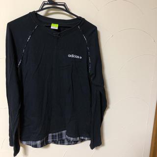 アディダス(adidas)のアディダス NEO LABEL 長袖Tシャツ メンズMサイズ (Tシャツ/カットソー(七分/長袖))