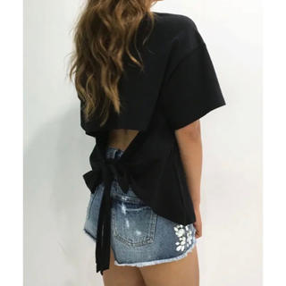 DaTuRa - 新品 DaTuRa バックリボンTシャツ