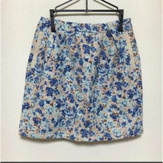 URBAN RESEARCH - アーバンリサーチ 花柄台形ミニスカート