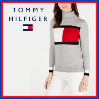 TOMMY HILFIGER - 日本未入荷★トミーヒルフィガー タートルネック ニットセーター