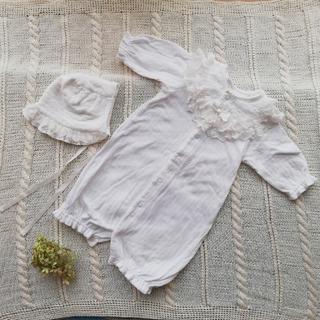 ベルメゾン - 【美品】ベルメゾン 新生児 セレモニードレス
