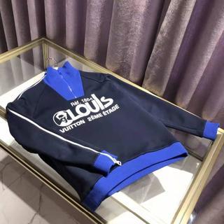 ルイヴィトン(LOUIS VUITTON)のLOUISプリンテッドマルチジップスウェットシャツ ルイヴィトン(パーカー)