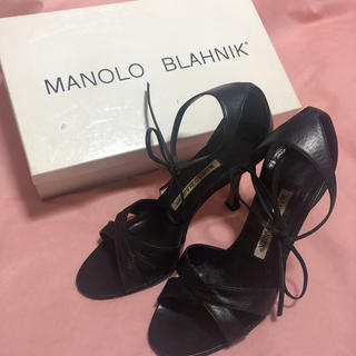 マノロブラニク(MANOLO BLAHNIK)のマノロブラニク   サンダル 35(サンダル)