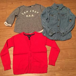 ギャップ(GAP)のGAP キッズ 120 セット まとめ 女の子 子供服(Tシャツ/カットソー)