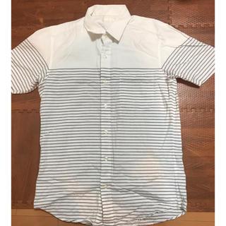ジーユー(GU)のボタン付きTシャツ(シャツ/ブラウス(半袖/袖なし))
