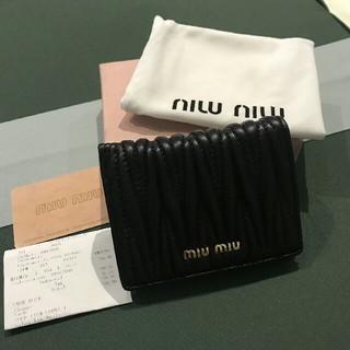 ミュウミュウ(miumiu)のmiumiu 折り財布 (折り財布)