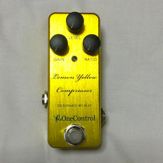 One Control Lemon Yellow Compressor(エフェクター)