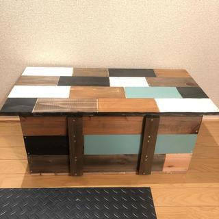 ジャンクボックス 収納ローテーブル(ローテーブル)