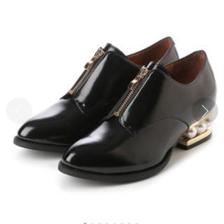 アングリッド(Ungrid)のJeffrey campbell パール マニッシュシューズ(ローファー/革靴)