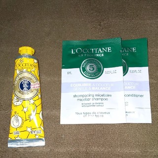 L'OCCITANE - ロクシタン・L'OCCITANE・ハンドクリーム・新品。未開封品。おまけ付。