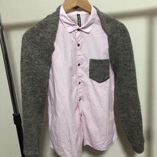 フラボア(FRAPBOIS)のFRAPBOIS ニットドッキングシャツ(シャツ)