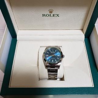 ロレックス(ROLEX)のROLEX ミルガウス 116400GV Zブルー 国内正規品  新品 未使用品(腕時計(アナログ))