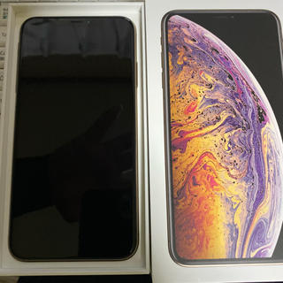 Apple - iPhone XSMAX 256G SIMフリー ゴールド
