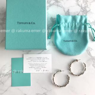 ティファニー(Tiffany & Co.)のTiffany & Co. ティファニー インフィニティフープ ピアス 箱付き(ピアス)