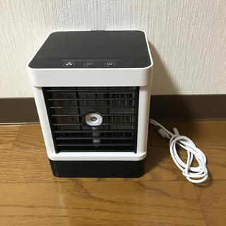 扇風機 ミニクーラー ポータブル 空気浄化 加湿
