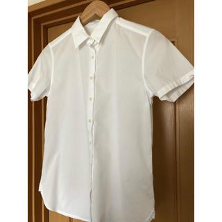 ムジルシリョウヒン(MUJI (無印良品))の無印良品 半袖コットンシャツ(シャツ/ブラウス(半袖/袖なし))