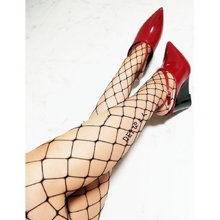 MURUA - 新品 MURUA エナメル ポインテッドトゥ ウェッジソール パンプス 靴