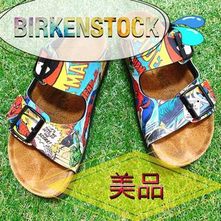 ビルケンシュトック(BIRKENSTOCK)の【美品】【SALE】BIRKENSTOCK ビルケンシュトック スパイダーマン(サンダル)