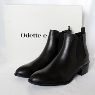 Odette e Odile - 新品未使用 Odette e Odile 本革 サイドゴアブーツ レザー