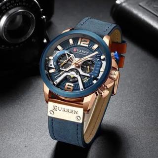 CURREN カレン  ◆高級メンズ腕時計◆ クロノグラフ(腕時計(アナログ))